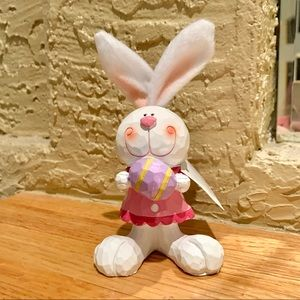 EASTER SPRING BUNNY FIGURINE